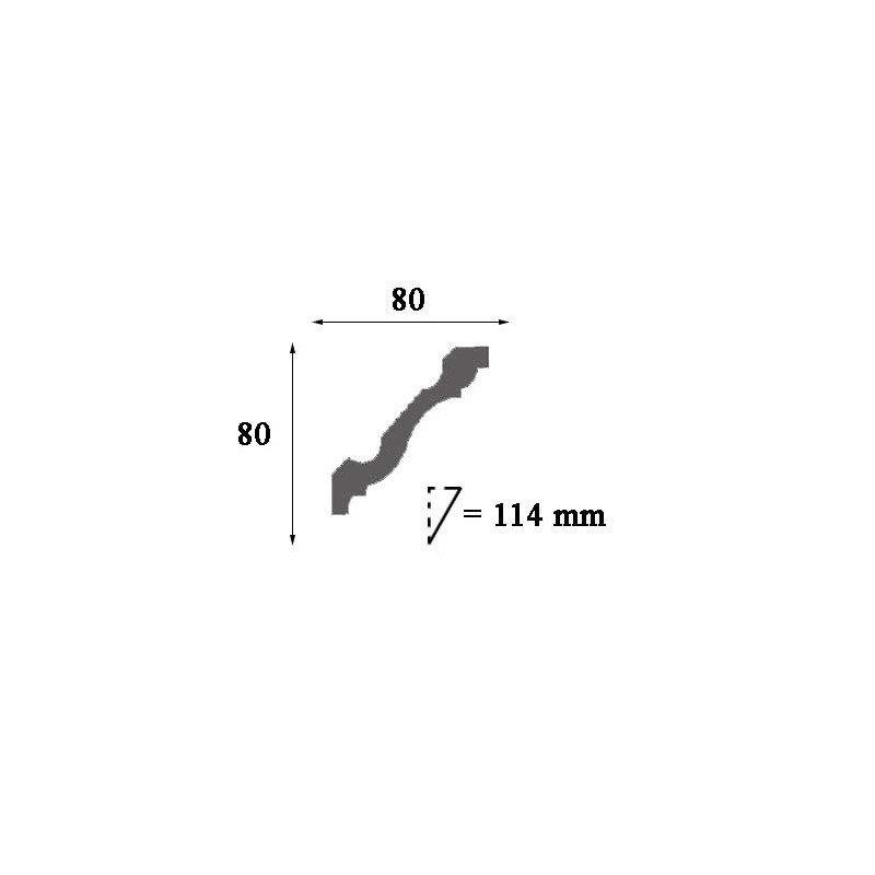 Grindjuostė LGC09M (2440x15x122) mm